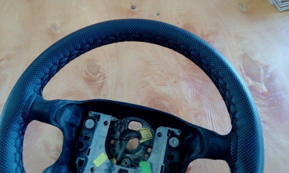 калъф кожа за шиене за автомобилен волан 37-38 см диаметър