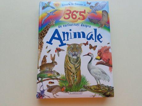 """Carte """"Citeste in fiecare zi - 365 de curiozitati despre animale"""""""