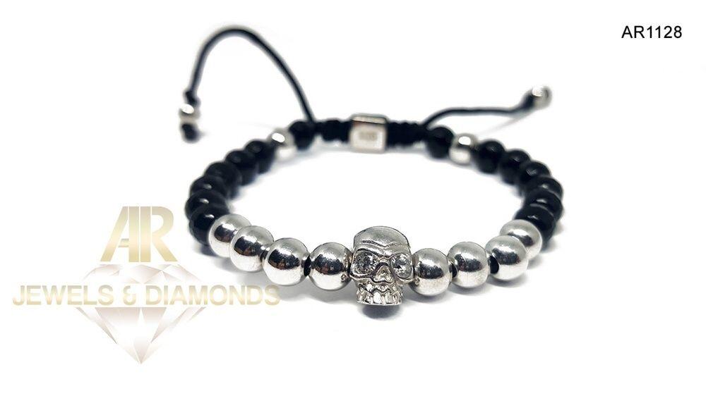 Bratara Skull ARJEWELS Collection model nou AR1128