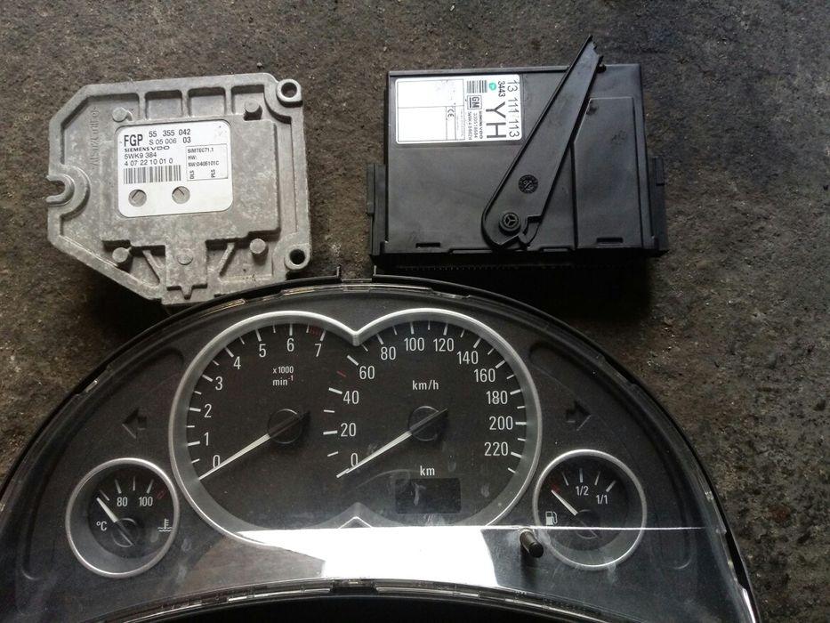 Opel z18xe kit pornire, bobina, compresor, clapeta