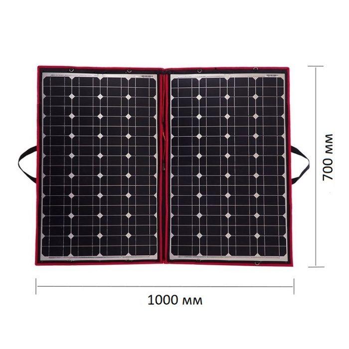 110W гъвкав и лек монокристален соларен панел с контролер