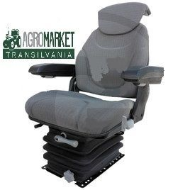 scaun cu suspensie pneumatica pentru tractor