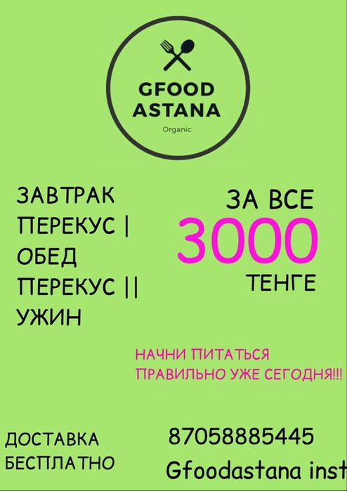 Доставка ПП еды правильного питания