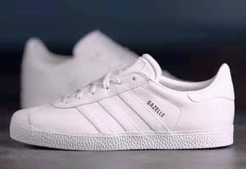 Adidas gazelle branca