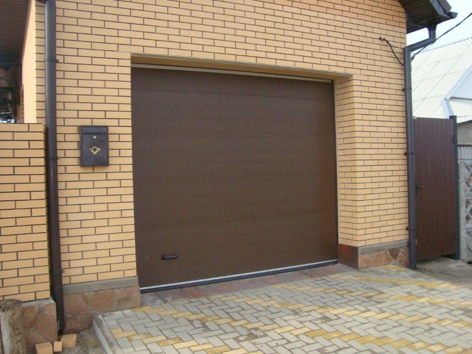 Автоматические гаражные ворота.Кредит от Альфа Банка