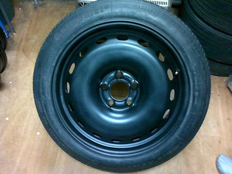 Резервна гума патерица 18 и 19цола за бмв GT F07 , седмица Ф01