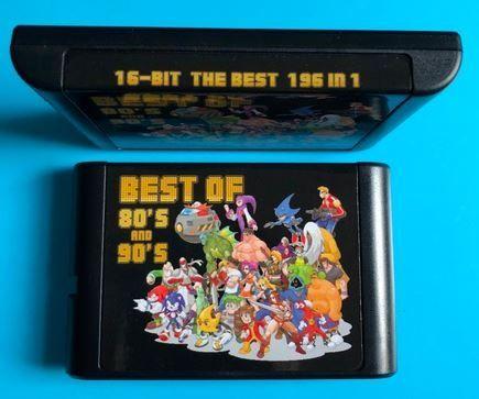196 в 1 подбрани игри за Sega Mega Drive