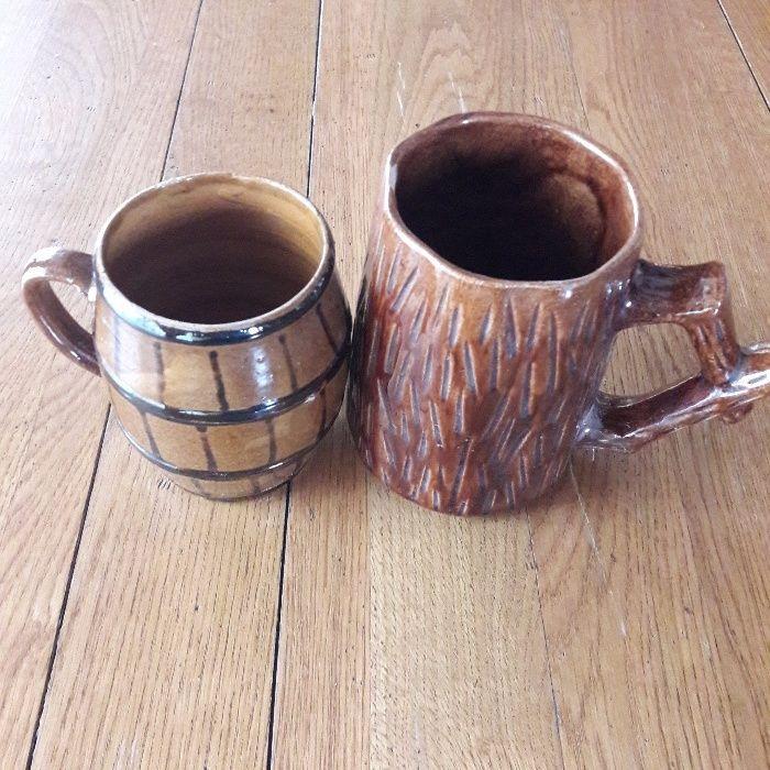 Halbe de bere din ceramica