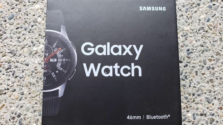 Samsung galaxy Watch 46mm selado na caixa
