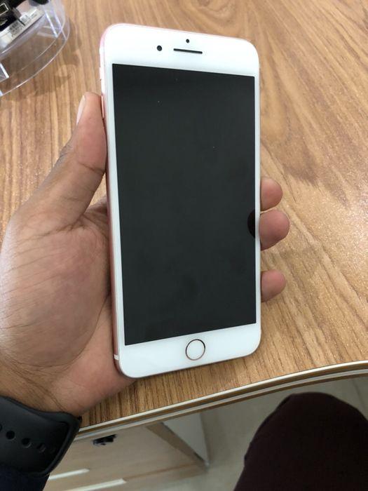 iPhone 7 Plus 32GB Rose Gold Novo com Cabo