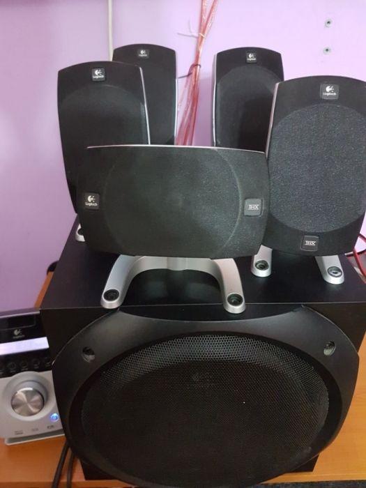 Vând sistem Logitech Z5500