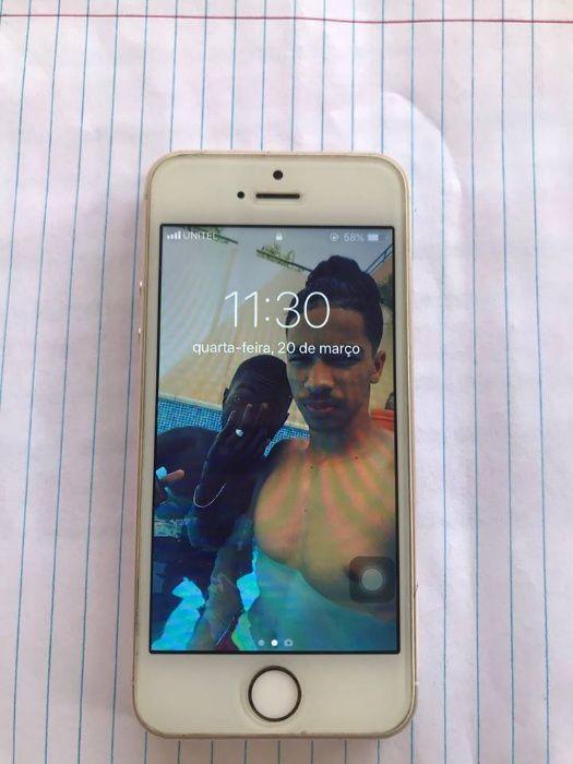 Vendo meu iphone 5s quase novo em bom estado purinho tudo em dia