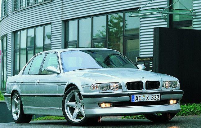 Спойлер за предна броня за BMW E38 AC Schnitzer