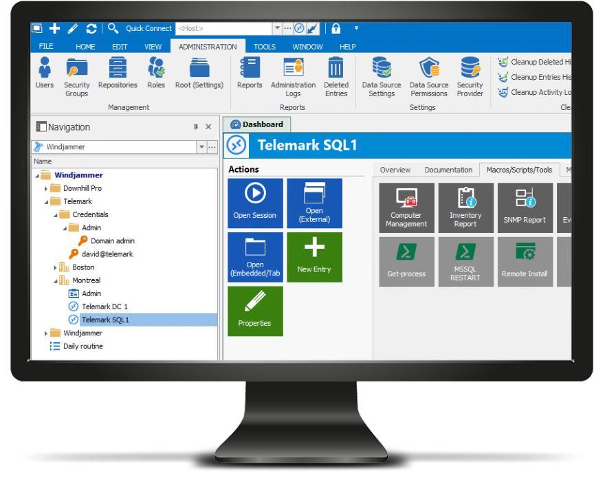 Instalação Remote desktop manager Mac/Windows