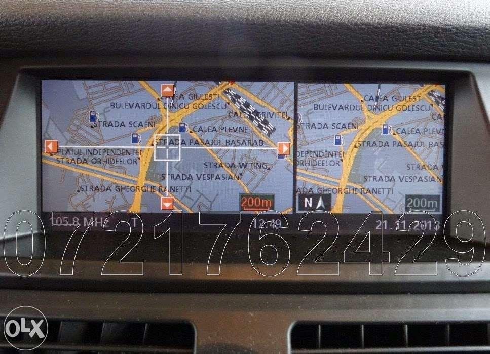 BMW Seria 1 3 5 6 X5 X6 DVD harta navigatie PROFESSIONAL ROMANIA 2018