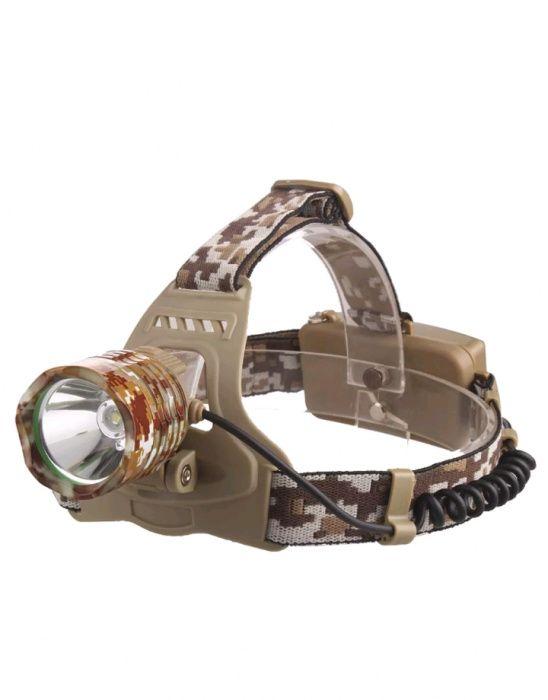 Set lanterna de cap/frontala Led XML 2x18650 9800mah pescuit-vanatoare
