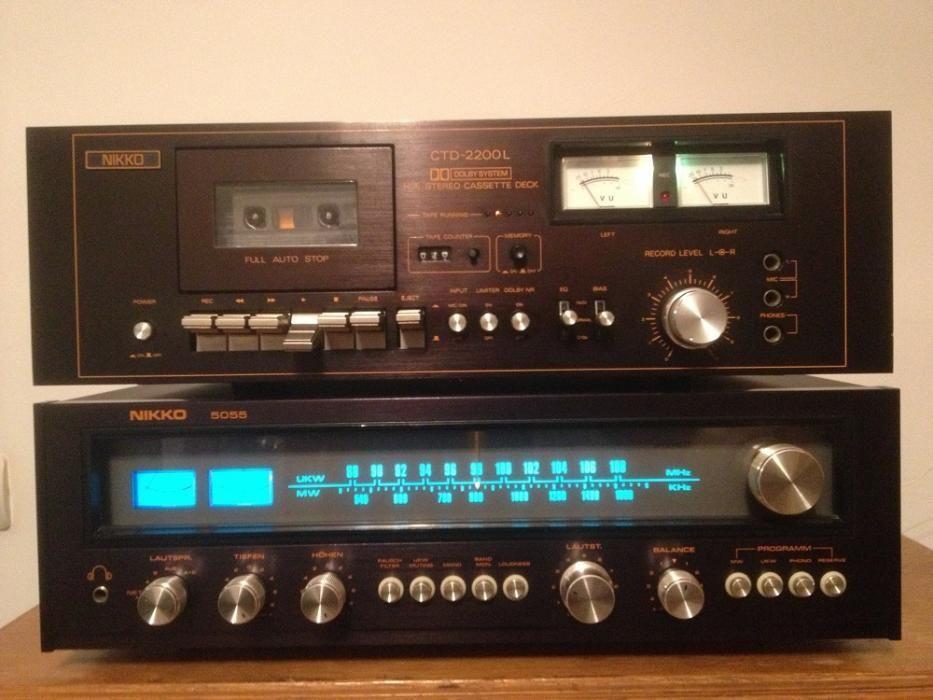 Linie Audio NIKKO : Amplituner 5055 + Deck CTD -2200L -Japan/Impecabil
