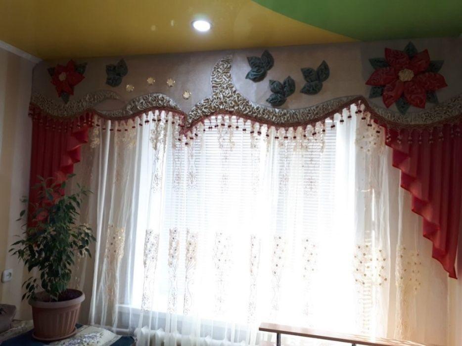 Очень красивые шторы в детскую комнату 3д