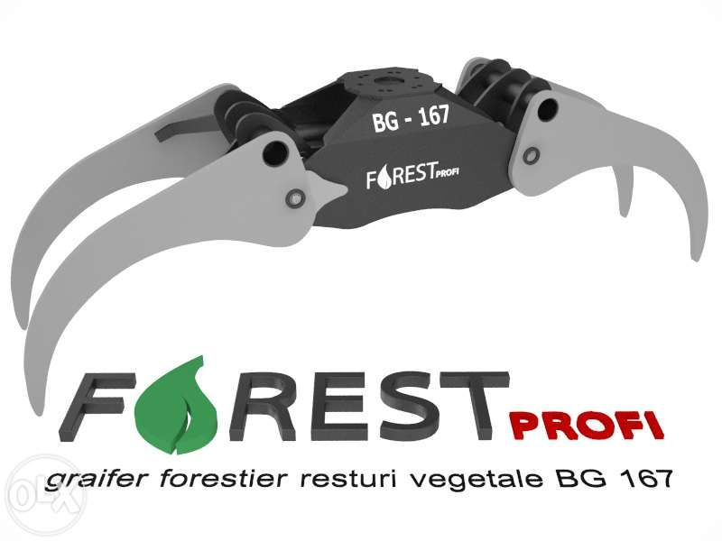 Graifer forestier BG 167 deschidere 1670mm