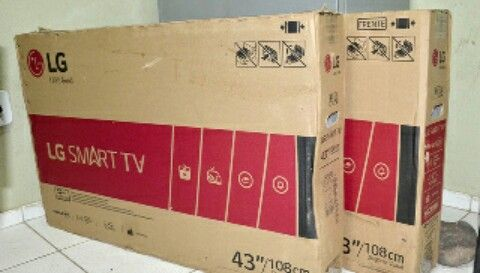 TV plasma de 43 polegadas