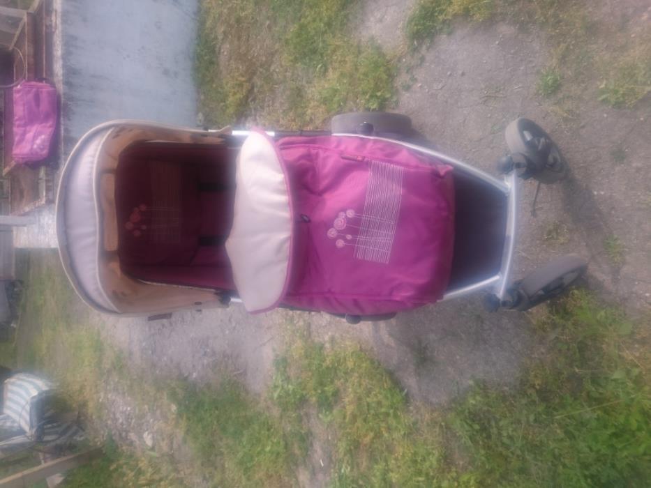 Комбинирана детска количка Лорели Карера 4 колела 2 в 1