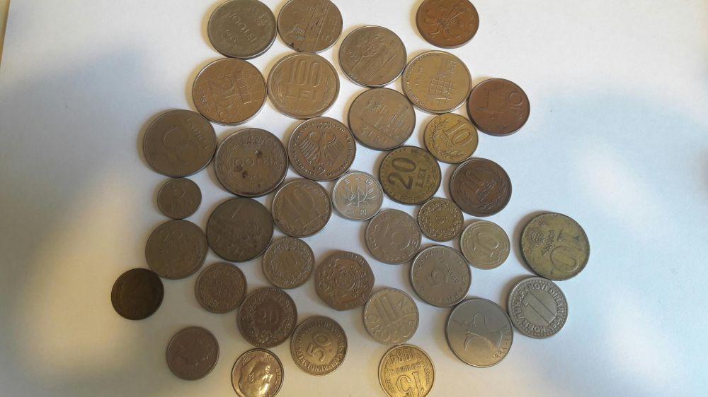 Colectie menede si bancnote vechi Buciumeni - imagine 3