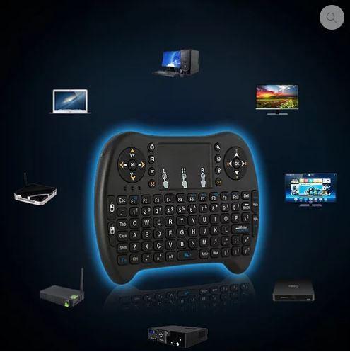 Mini teclado e rato sem fios