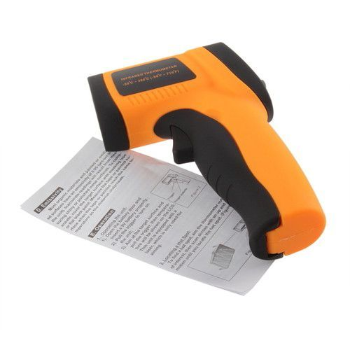 Termometru mana laser pistol afisaj electronic digital lcd