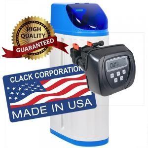 Dedurizator 25 litri, AUTOMAT, Clack -SUA, 3-5 persoane