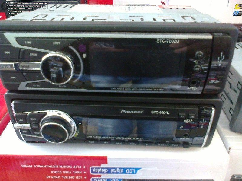 Ново!Авто-Радио с МР-3,слот за карта и флашка