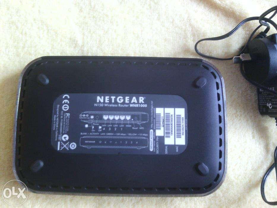 Vind wireless router Netgear model WNR1000,150 MBps, 60 lei