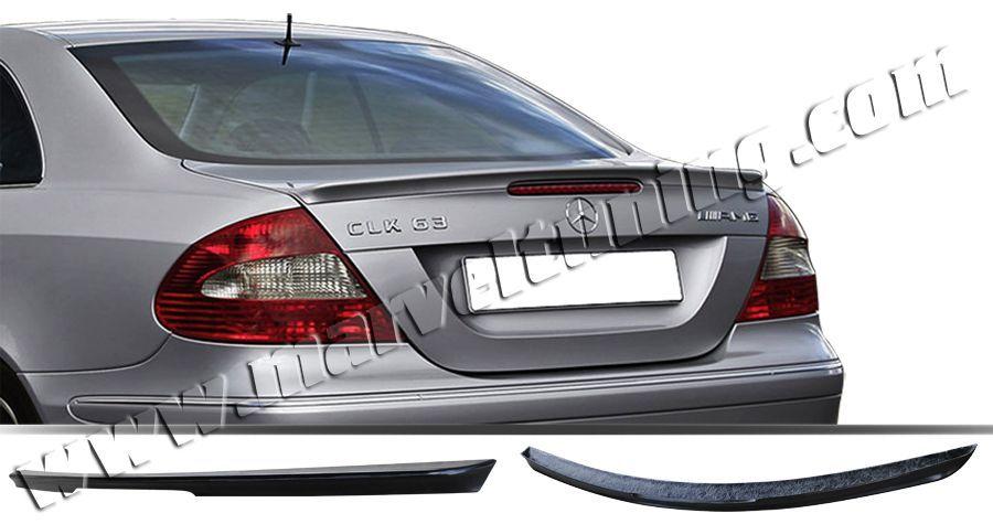 Спойлер заден капак (лип спойлер) тип АМГ Mercedes CLK W 209