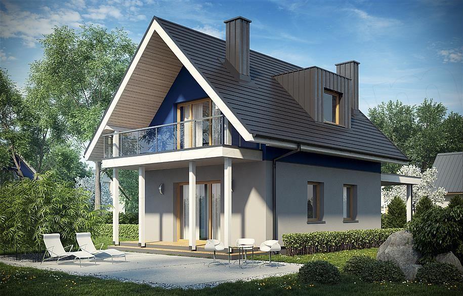 Kit casa lemn 96 mp