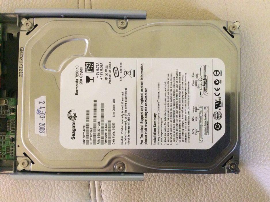 HDD Seagate Baracuda 250 gb