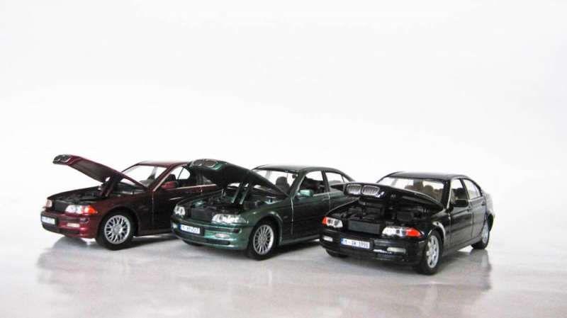 Умалени модели на BMW E46 320 328 - 1/43 diecast макет