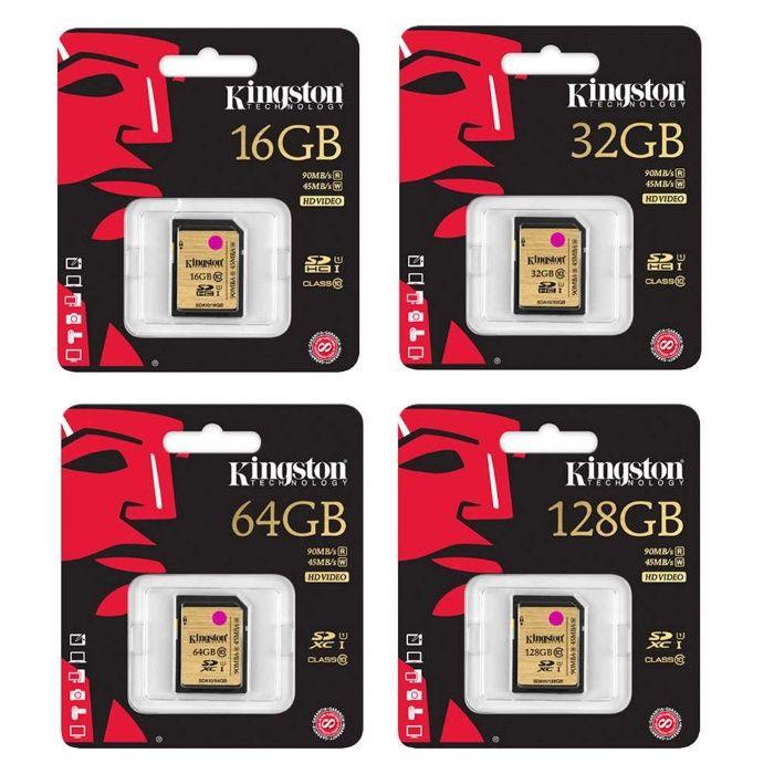 Kingston/Transcend/SanDisk SD 16/32/64/128/256/512gb