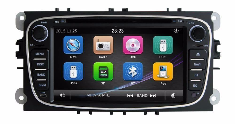 Navigatie FORD Focus Mondeo TRANSIT GPS DVD MP3 USB Garantie 1AN