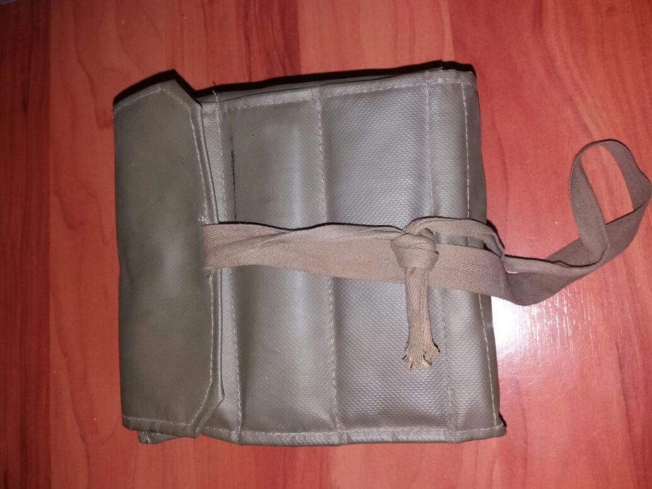 Geanta veche militara Lupress Swiss pentru lustruit pantofi