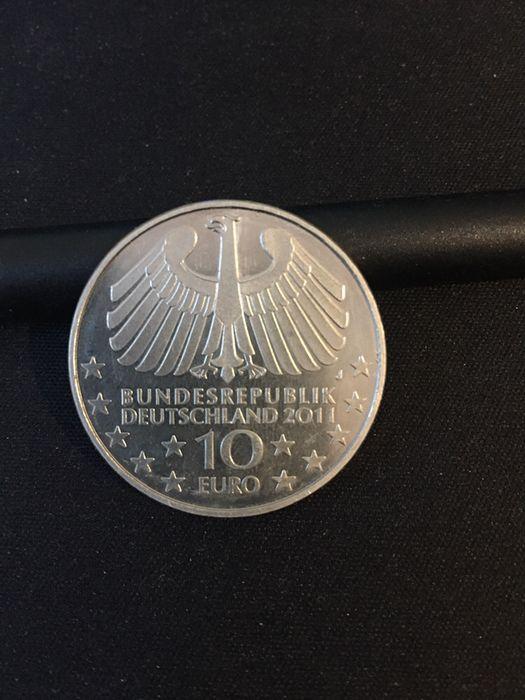 Vand moneda de argint 10 Euro