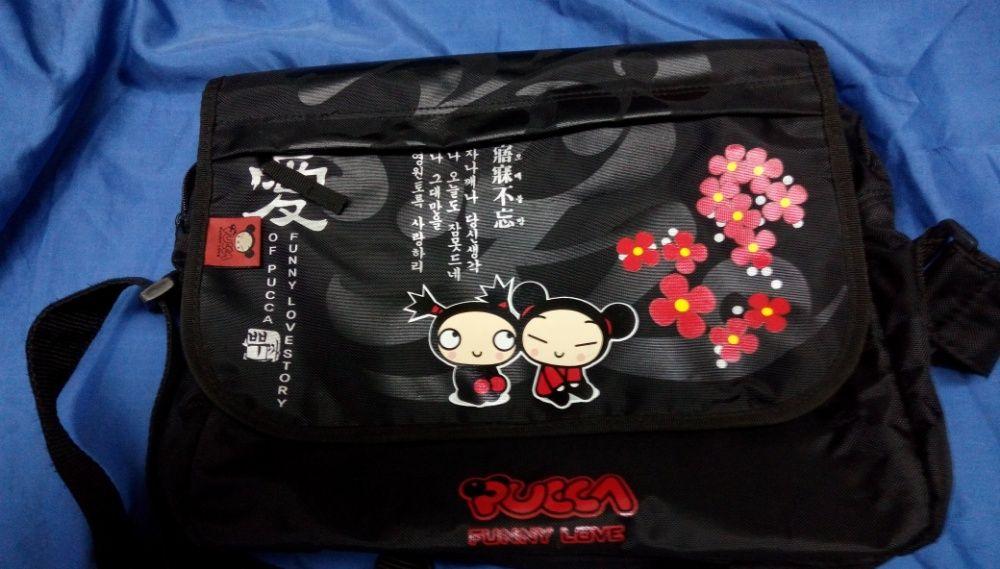 Черна чанта Pucca - Funny Love Нова!