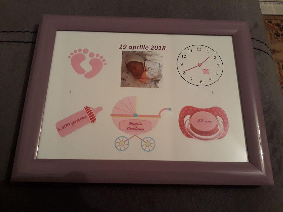Tablou personalizat bebe