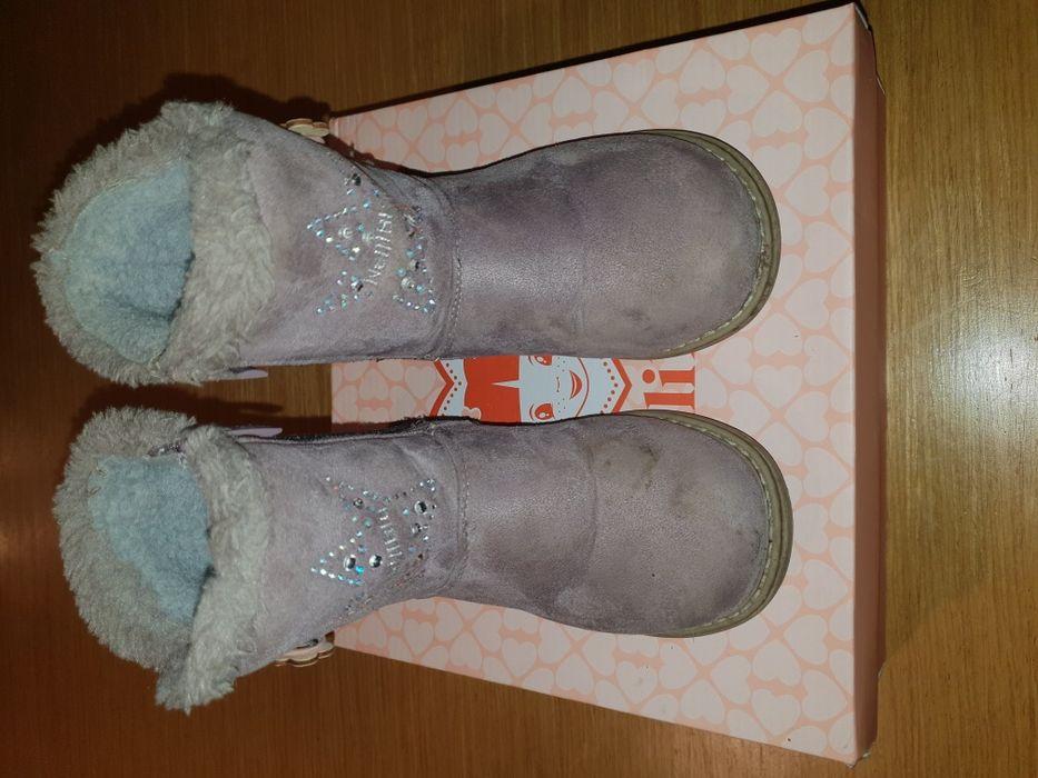 Детски есенно-зимни ботушки за момченце Nelli Blu - размер 29