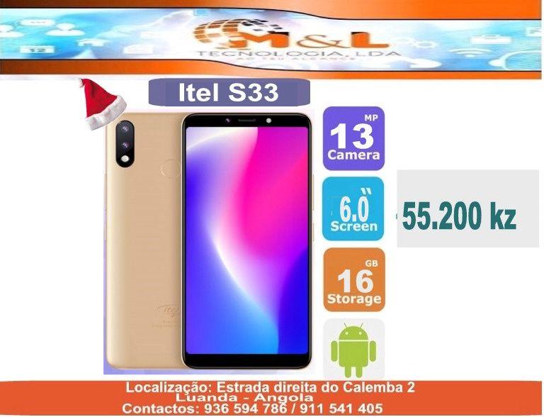 Telemovel Itel S33 Novo original