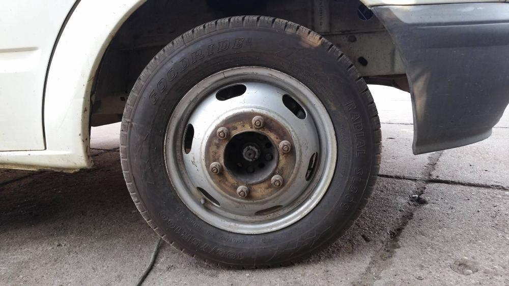 Jante ford transit 2006 2010 punte dubla 2000 2006 6 prezoane r16
