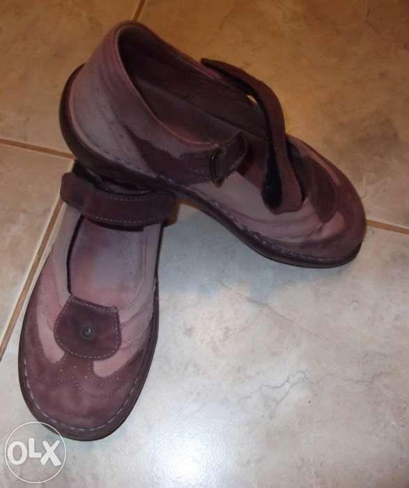 papuci dama piele naturala interior+exterior