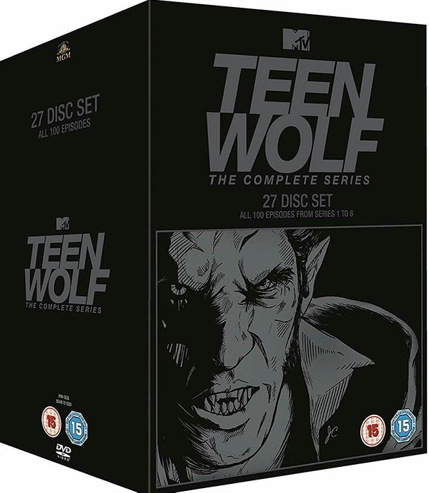 Film Serial Teen Wolf DVD BoxSet Seasons 1-6 Complete Collection
