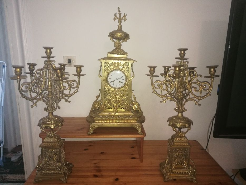 ceas vintage din dronz
