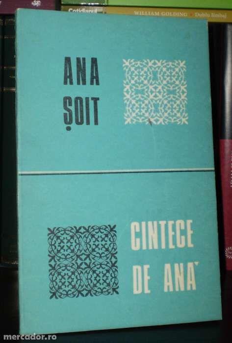 Ana Soit - Cintece de Ana [carte de poezii rara]