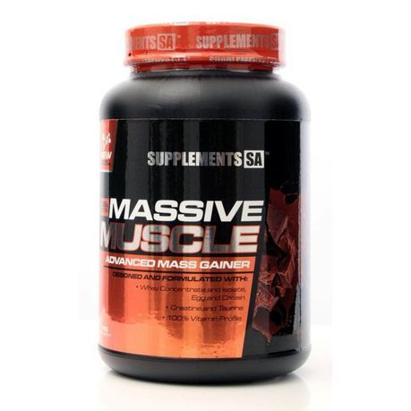 Massive gainer aumento da massa muscular 1kg/2kg