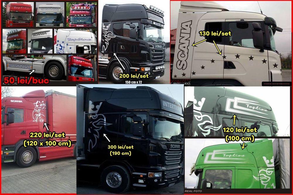 Stickere camioane